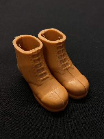 VINTAGE ACTION MAN -  ADVENTURER - Tan - Caramel Boots (Ref 2)